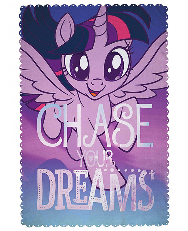 Deka My little Pony Twilight Sparkle 150cmx100cm