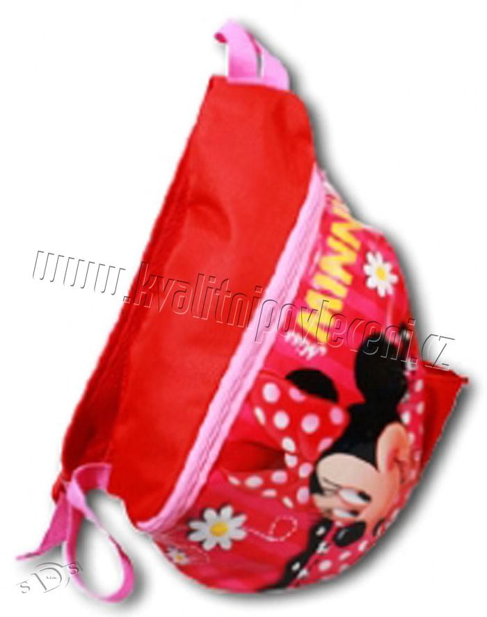 529424a2a6e Batoh jednoramenný Minnie červená empty