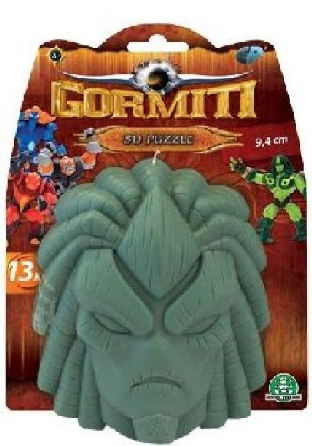 Výprodej - 3D puzzle Gormiti zelená barva