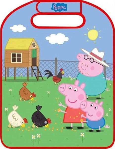 Ochrana sedadla do auta Prasátko Peppa Pig