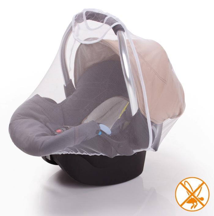 Síťka proti hmyzu - Moskytiéra na autosedačku - vajíčko s rukojetí DIAGO