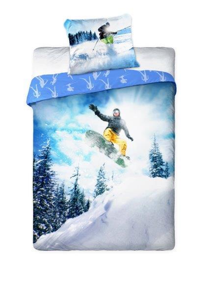 Povlečení Snowboarding