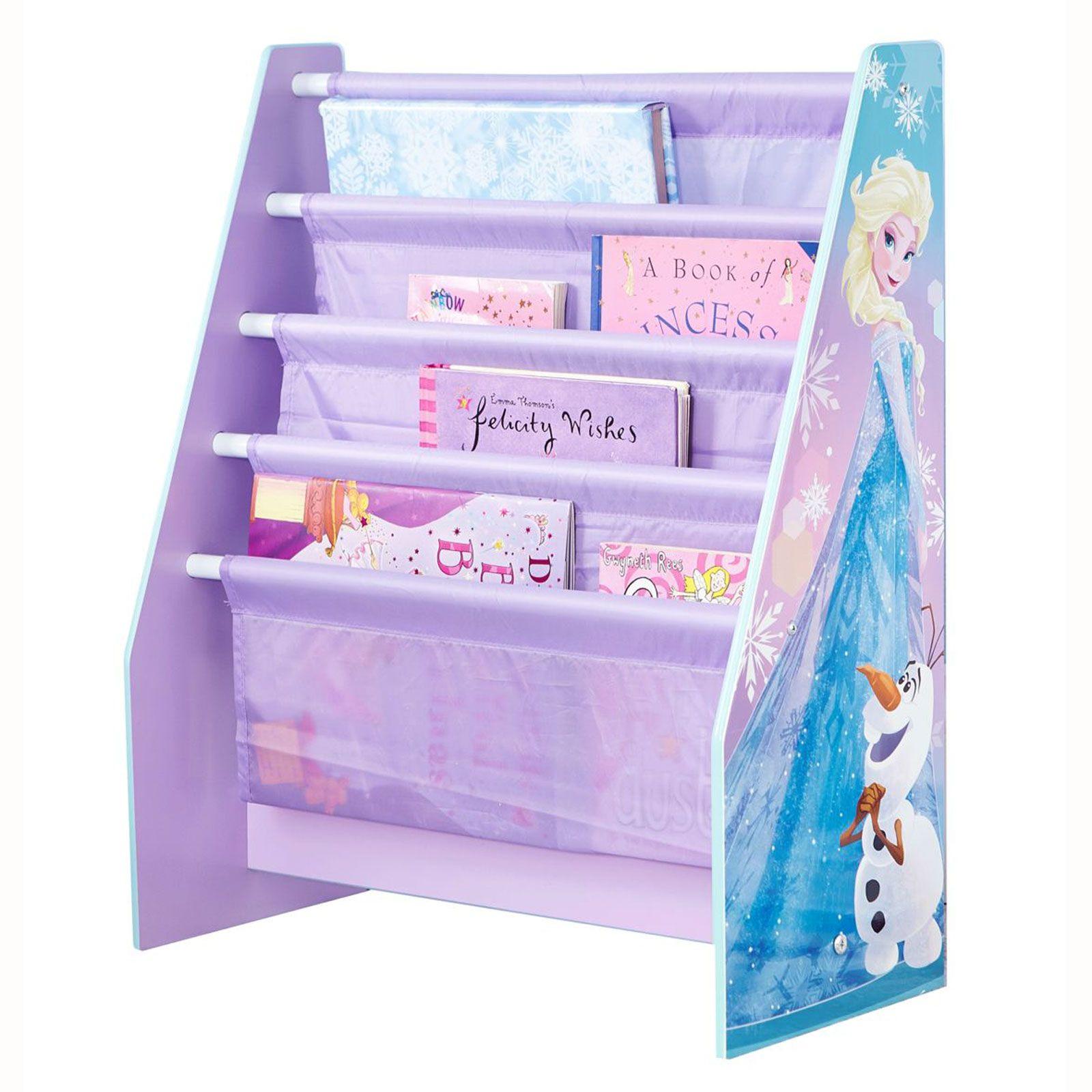 Knihovna Frozen Ledové království fialová