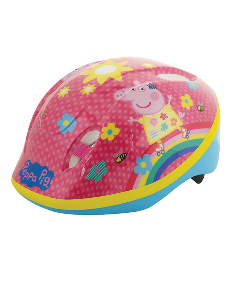 Dětská cyklistická helma Peppa Pig Prasátko Pepa - 48-52 cm