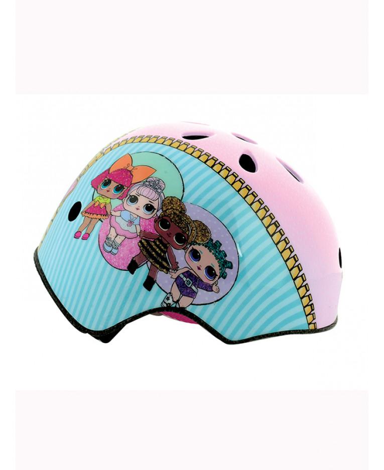 Dětská cyklistická helma LOL Surprise - 48-54 cm