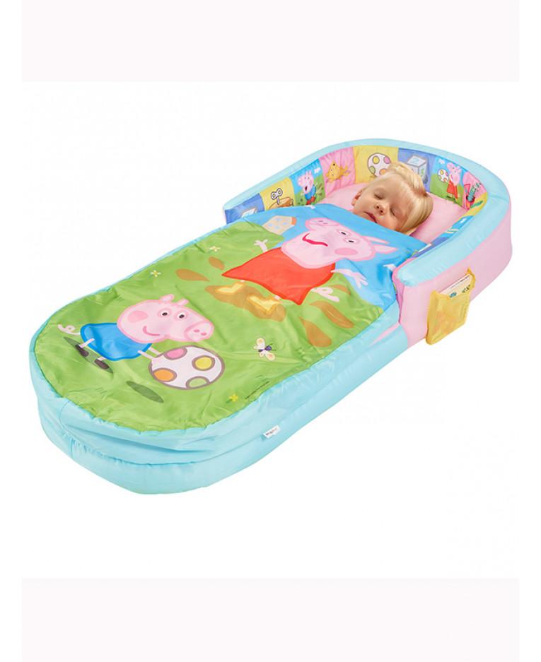 Cestovní postýlka nafukovací postel Peppa Pig