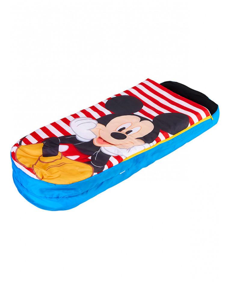 Cestovní postýlka nafukovací postel Mickey Mouse