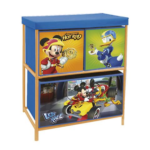 Komoda, regál na hračky Mickey Mouse II, organizér