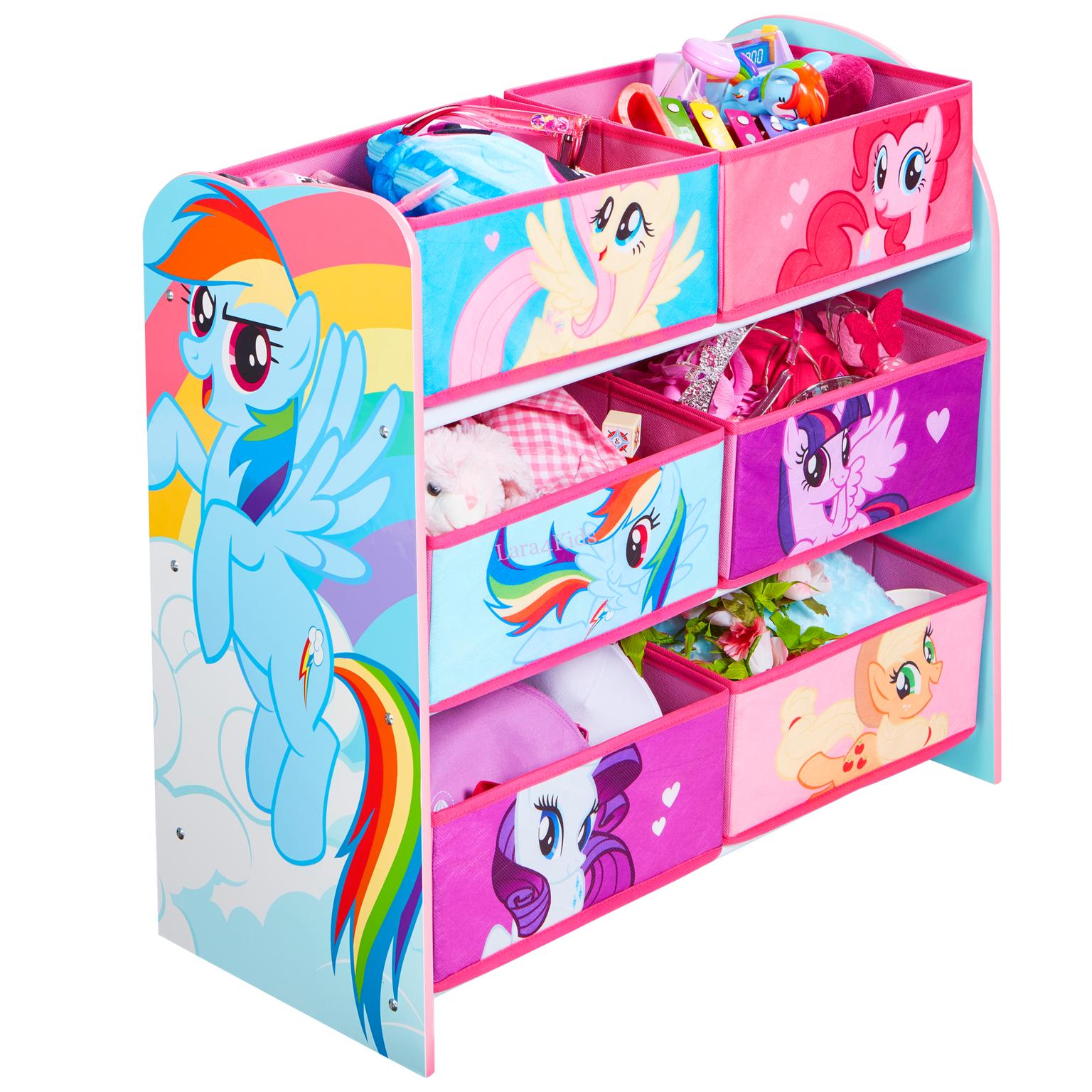 Komoda na hračky organizér My Little Pony