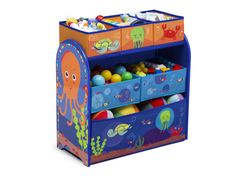 Komoda na hračky, organizér Mořský svět