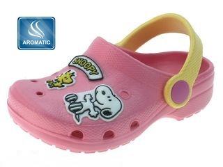 Dětské Clogs Snoopy s vůní BEPPI, vel. 28