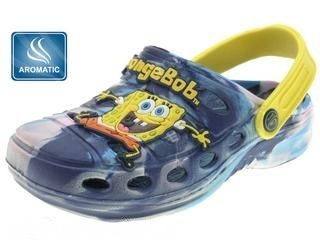Plážová obuv Clogs SpongeBob vel. 28