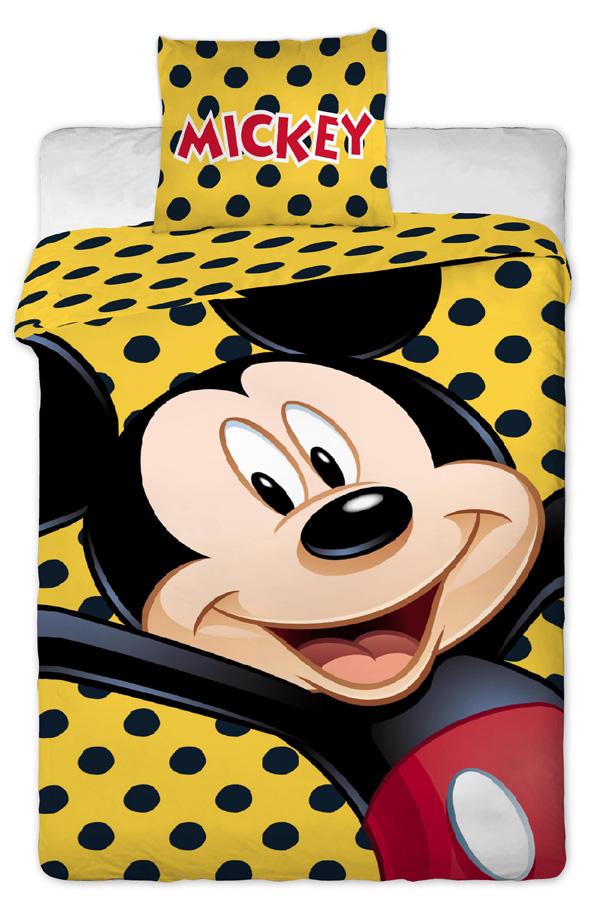 Povlečení Mickey yellow
